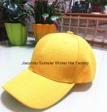 Impressão feita sob encomenda barata do chapéu e boné de beisebol 100% do esporte do algodão do logotipo do bordado