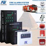 Pannello di controllo convenzionale del segnalatore d'incendio di incendio ospite del segnalatore d'incendio di incendio per lotta contro l'incendio