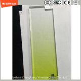 couleur PVB de gradient de 4.38mm-52mm, verre feuilleté de sûreté de Sgp avec le certificat de SGCC/Ce&CCC&ISO pour la partition, opération, balustrade, frontière de sécurité dans l'hôtel et maison