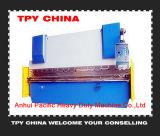 30t Máquina de prensa de doblado de la placa de acero hidráulico