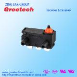 Mini micro micro interruttore impermeabile dell'interruttore 125V con RoHS e l'UL