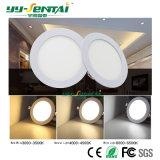 Ультратонкий LED алюминиевые панели лампа 6 Вт 12W 18W для установки на потолок
