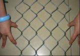 アメリカの電流を通されたチェーン・リンクの塀またはチェーン・リンクの網か鎖の鉄条網