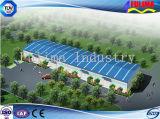 Edificio prefabricado de la estructura de acero para el uso industrial (FLM-030)