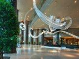 파이브 스타 호텔 현대 침실 가구 또는 힐튼 호텔 가구 또는 표준 호텔 여왕 침실 세트 한벌 또는 여왕 환대 객실 가구 (KNCHB-0611103)