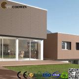 Comitato di parete di legno dell'hotel composito di plastica di legno del Faux (TF-04E)