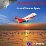 Transporte aéreo de mercadorias em Alicante (Espanha) provenientes da China