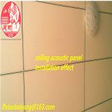 Panneau de plafond acoustique d'absorption acoustique plafond