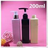 Botella plástica cuadrangular de la loción para el perfume (NB18901)