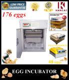 176 Oeufs Oeufs automatique de certificat CE bon marché pour la vente d'Incubateur (KP-4)