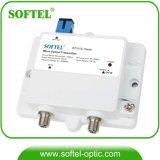 1310nm CATV 3MW FTTH saídas transmissor óptico mini