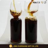 Tafelgeschirr farbiges Glasbecher-goldenes kupfernes Wein-Kristallglas