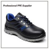 Zapatos de seguridad de la marca de fábrica del cuero genuino de la alta calidad