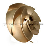 O impulsor microfusão / fundição em areia de Bronze