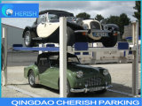 3700kgs Gewicht hydraulische vier 4 Pfosten-Selbstfahrzeug-Auto-Parken-Aufzug