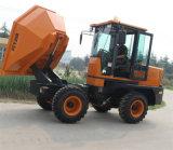 Camion de transfert des ordures 3.0ton Hydraulic Mini Site Dumper