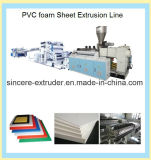 Folha da espuma do PVC \ linha de produção extrusão da placa