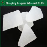 Fabricación de metales no ferrosos de alta pureza Industrial Supply Uso de tratamiento de agua de Poly Flake de amonio Sulfato de Aluminio