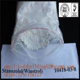 근육 증진 주사 가능한 신진대사 스테로이드 Winstrol CAS 10418-03-8