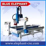 Ele 1330 taladradora de madera del CNC de 4 ejes, máquina del ranurador del CNC de 4 hachas para la fabricación de madera de los muebles
