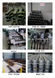 Manufatura do reboque de trator do caminhão da cama lisa do Tri-Eixo Semi