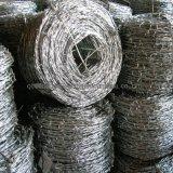 가시철사 또는 직류 전기를 통한 가시철사 /PVC 입히는 가시철사