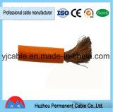 Cuerda de cobre del cable de la soldadura del aislante del PVC del cable de la soldadura del conductor en alta calidad