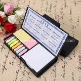 Note collante personnalisée de promotion, Notepad collant, tampon de mémoire collant avec le calendrier