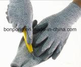 Hilado anti de Hppe del uso de los guantes del corte