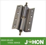 """曲がるハードウェアの鋼鉄または鉄のドアの離昇のクランクのヒンジ(4つの"""" X3 """"家具の付属品)"""
