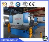 Freio da imprensa hidráulica do CNC WE67K-100X4000 e máquina de dobra da placa de aço