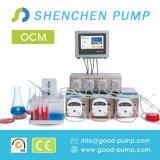 Ocm Lösung kundenspezifische peristaltische flüssige Pumpe für Laborbioreaktor