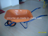 좋은 품질 분말 입히는 쟁반 압축 공기를 넣은 바퀴 외바퀴 손수레 (Wb6400)