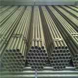 ERW Welded Carbon Black Structure Transportation Steel Pipe Tubes