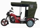 De recentste Motorfiets 150cc Met drie wielen van Tuktuk van de Benzine van de Passagier van de Riksja van het Type (HDM150ZK-26)