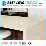 Partie supérieure du comptoir de marbre de pierre de quartz de qualité de couleur