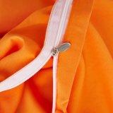 De goedkope Heldere Reeksen van het Beddegoed van Microfiber van de Polyester van 100% Perzik Gekleurde