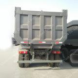 フィージーのための右駆動機構の空気シートHOWO A7 20cbmのダンプトラック