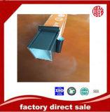 Revestimento do pó de Hot-Sale-6063-Aluminium-Profiles, ruptura térmica, anodizando, prata que lustra, polonês dourado