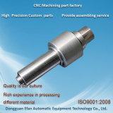 Pièces de rotation de usinage de commande numérique par ordinateur de tour de précision d'acier inoxydable de service d'usine