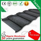 Tuile de toit enduite en métal de pierre de constructeur de Guangzhou