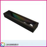 Elegante Caja de cartón de embalaje de chocolate con Pet Ventana (XC-10-003)