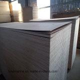 madera contrachapada de 18m m Okoume con la base del álamo para los muebles