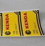 Etichetta adesiva del documento termico