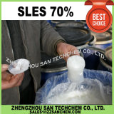 Solfato laurico 70% dell'etere del sodio di SLES per sapone liquido
