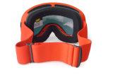 Lunettes interchangeables polarisées de casque de ski de lentille de PC pour l'adulte
