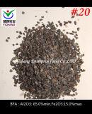 Al2O3: 65% 거친 폭파를 위한 최소한도 브라운 알루미늄 산화물