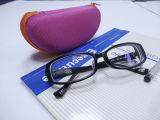 Caixa de couro dos Eyeglasses da qualidade (Hx265)