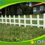 정원 방호벽이 PVC 강철에 의하여 윤곽을 그린다