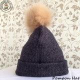 Зимой с Pompon Beanie Red Hat (BH-02)